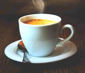 verse kop koffie