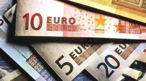 close-up van eurobiljetten