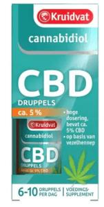 Kruidvat CBD olie verpakking
