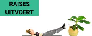 Video: Hoe je LEG RAISES Correct Uitvoert - Voorgedaan Door een PRO