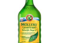 fles levertraan van het met merk Mollers