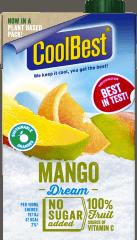 Coolbest mango smaak verpakking
