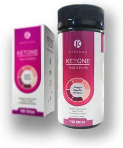 Ketone productverpakking van het merk Medicon