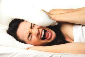 niet genoeg slaap krijgen