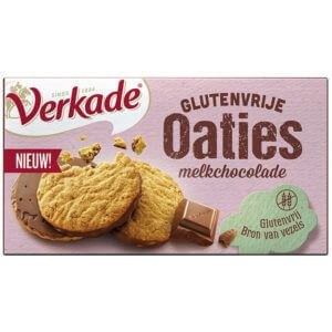 Glutenvrije oaties verpakking van het merk Verkade