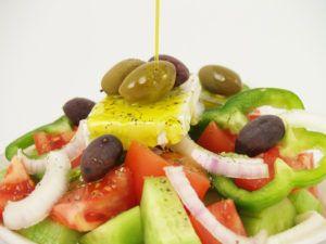 salade huile d'olive