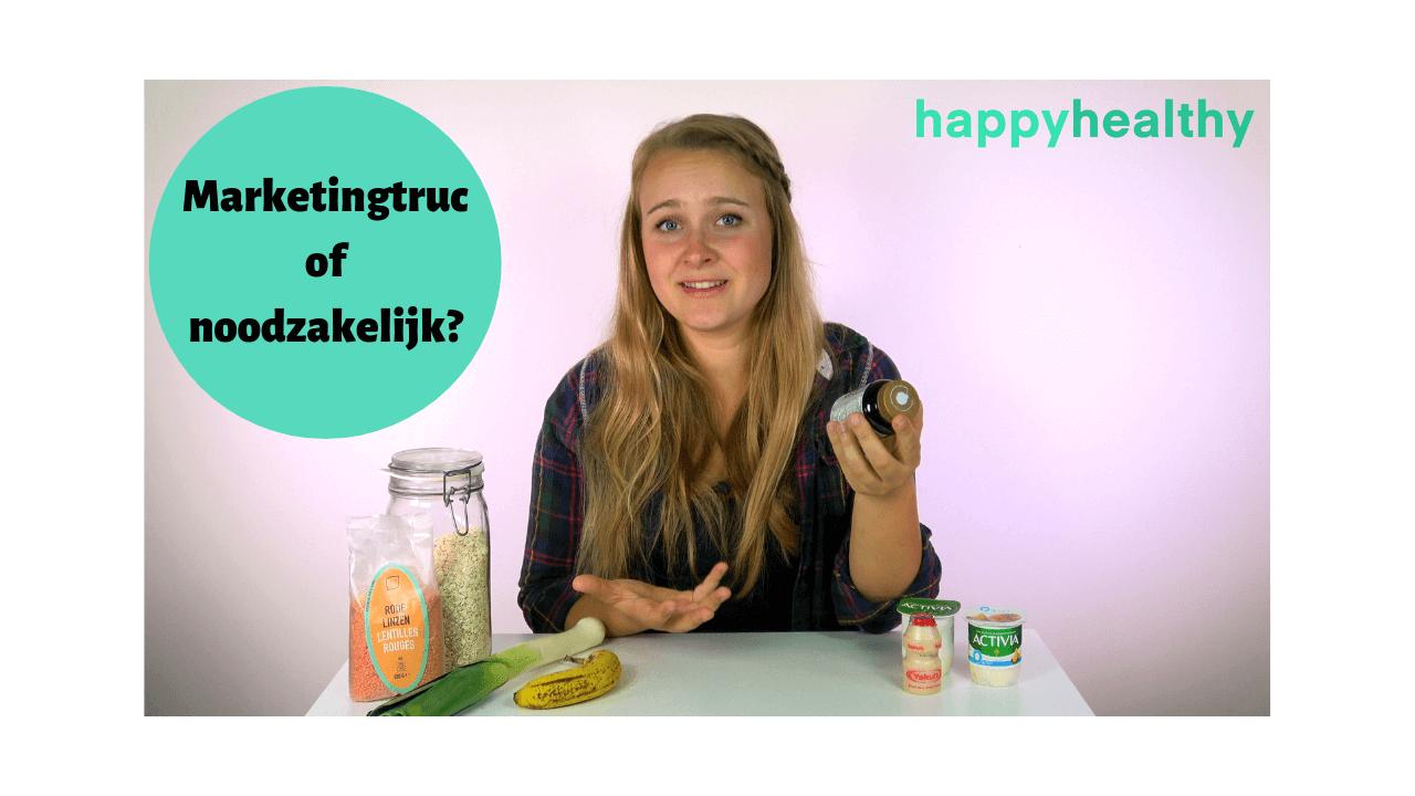 Video: Pre- en probiotica - Heb je ze nodig?