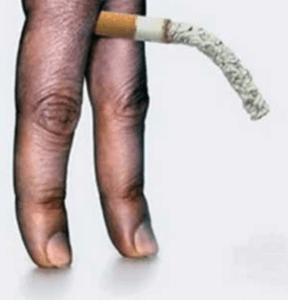 illustratie dat sigaretten slecht zijn voor je libido