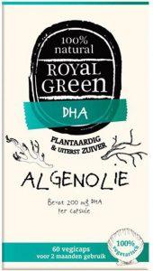 Algenolie van het merk Royal green