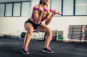 exercices composés squat