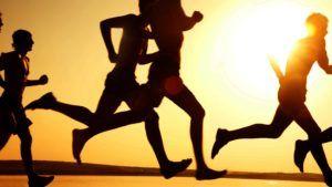 afvallen door te sporten
