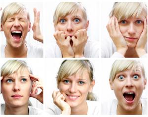 Les sautes d'humeur sont un symptôme de la ménopause