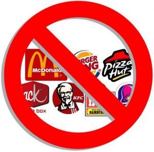 non au fast-food