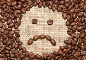 En cas de manque d'énergie, mollo avec le café
