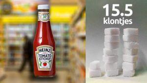 sucre ketchup