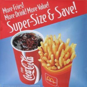 super size fastfood