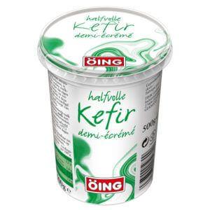 Halfvolle kefir product van het merk Oing