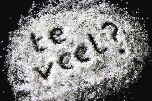 te veel zout