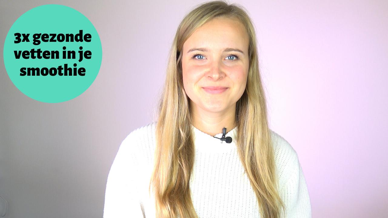 Video: 3 tips voor gezonde vetten in een smoothie