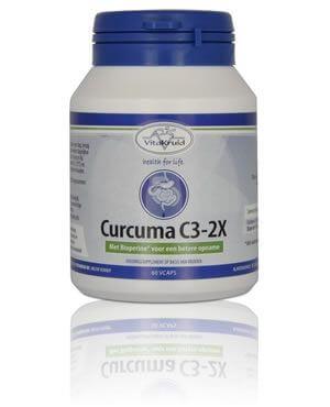 Curcuma supplement van het merk Vitakruid