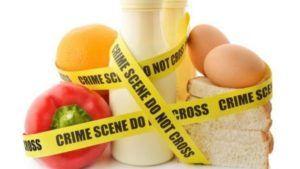 Voedingsmiddelen die relatief vaak voor allergische reactie of intolerantie zorgen