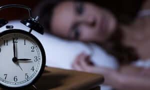 femme souffrant de troubles du sommeil