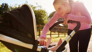 Pour perdre du poids après l'accouchement, bougez !