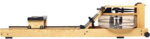 houten roeitrainer op waterweerstand