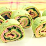 Waanzinnige Wraps met ham, Kaas en Pesto