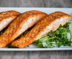 Salmón rico en omega-3